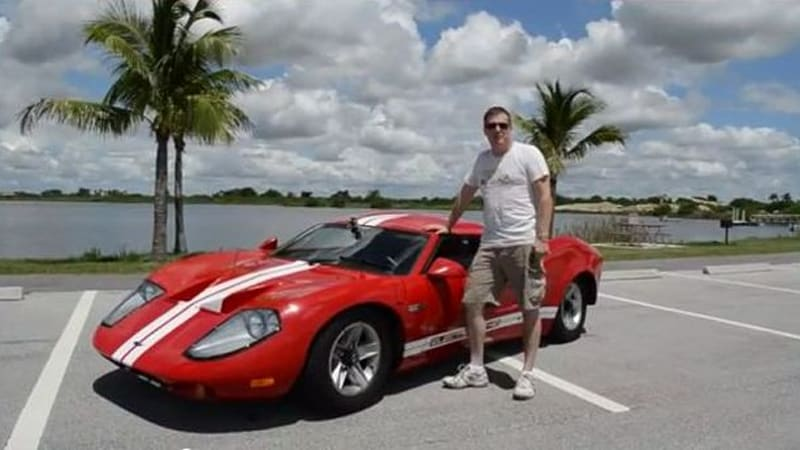 ford gt40 replica gets juiced with electric conversion autoblog. Black Bedroom Furniture Sets. Home Design Ideas