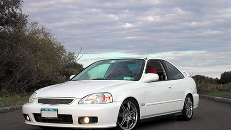 99 Civic Sedan: RR Of The Day: Go-fast Girl In A '99 Civic EX Coupe