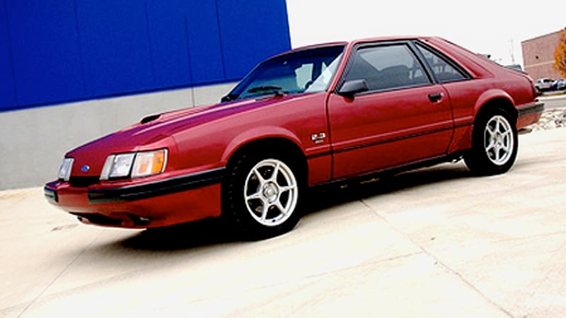 rr of the day 1986 mustang svo autoblog. Black Bedroom Furniture Sets. Home Design Ideas