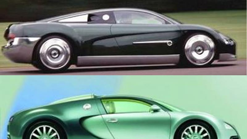 How To Pronounce Audi >> Separated at Birth: Bugatti Veyron and Bentley Hunaudi res Concept - Autoblog