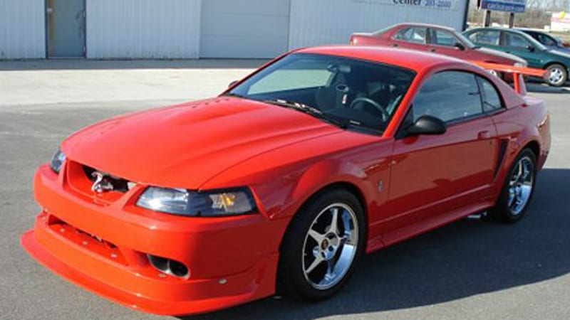 ebay find of the day 2000 cobra mustang r 186 of 300 autoblog. Black Bedroom Furniture Sets. Home Design Ideas