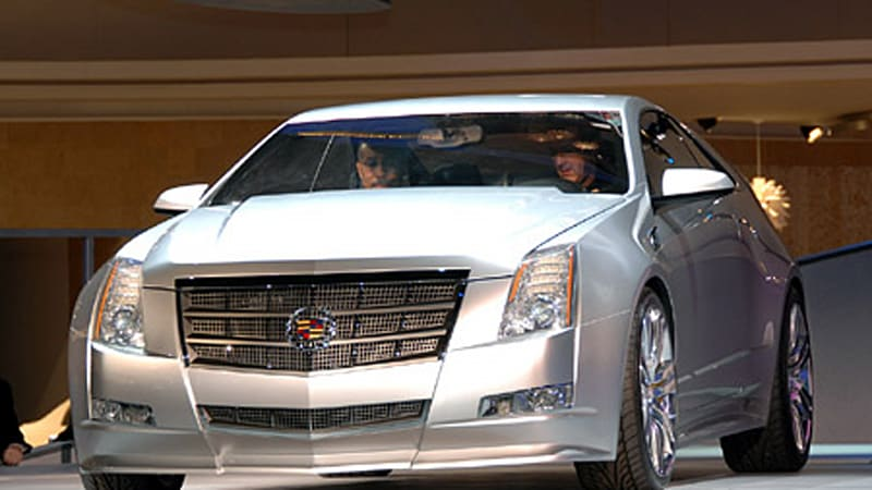 detroit 2008: cadillac cts coupe concept proves 2 doors is better     -