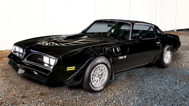 burt reynolds 39 own bandit trans am to be auction in may autoblog. Black Bedroom Furniture Sets. Home Design Ideas