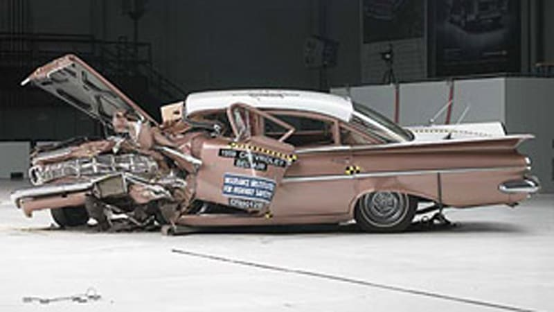 Lincoln Town Car  Crash Test Results
