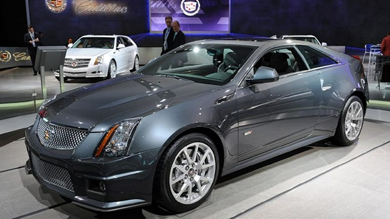 detroit 2010 cadillac cts v coupe might just be our best of show w video autoblog. Black Bedroom Furniture Sets. Home Design Ideas