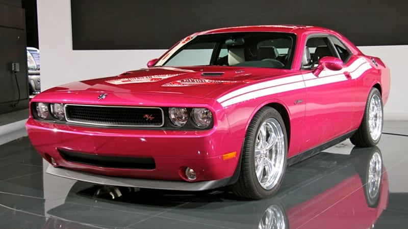 chicago 2010 panther pink furious fuchsia challenger autoblog. Black Bedroom Furniture Sets. Home Design Ideas