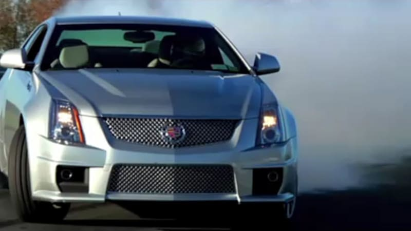 Cts V Wagon For Sale >> Video: Cadillac CTS-V drifts its wheels off at Monticello - Autoblog