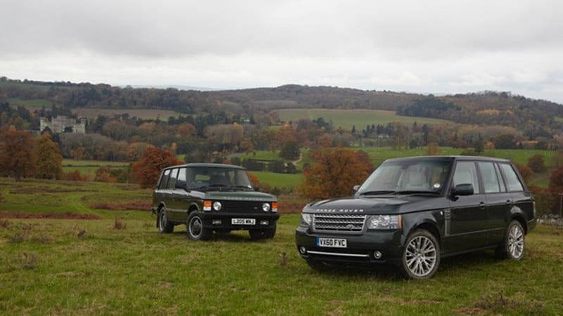 classic mashup 2011 range rover vs 1993 range rover autoblog. Black Bedroom Furniture Sets. Home Design Ideas