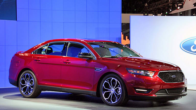 new york 2011 2013 ford taurus and taurus sho bow in the big apple autoblog. Black Bedroom Furniture Sets. Home Design Ideas
