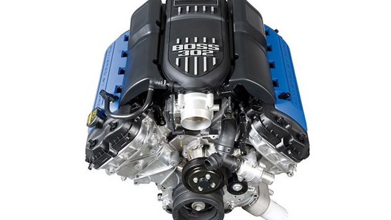 boss 302 crate engines now available from ford racing autoblog. Black Bedroom Furniture Sets. Home Design Ideas