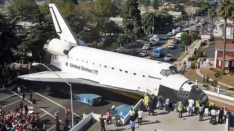 space shuttle endeavour time lapse - photo #3