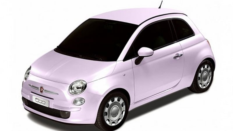 fiat 500 fiore rosa is italian japanese cute overload fusion autoblog. Black Bedroom Furniture Sets. Home Design Ideas