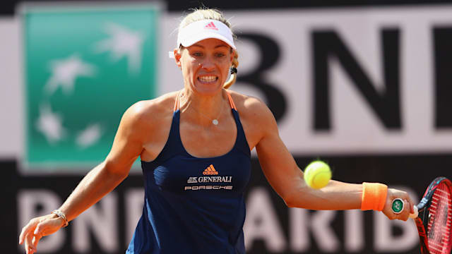 World number one Angelique Kerber beaten in French Open first round