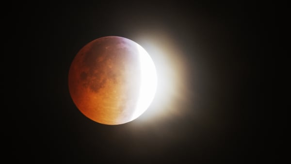 blood moon today in texas - photo #17