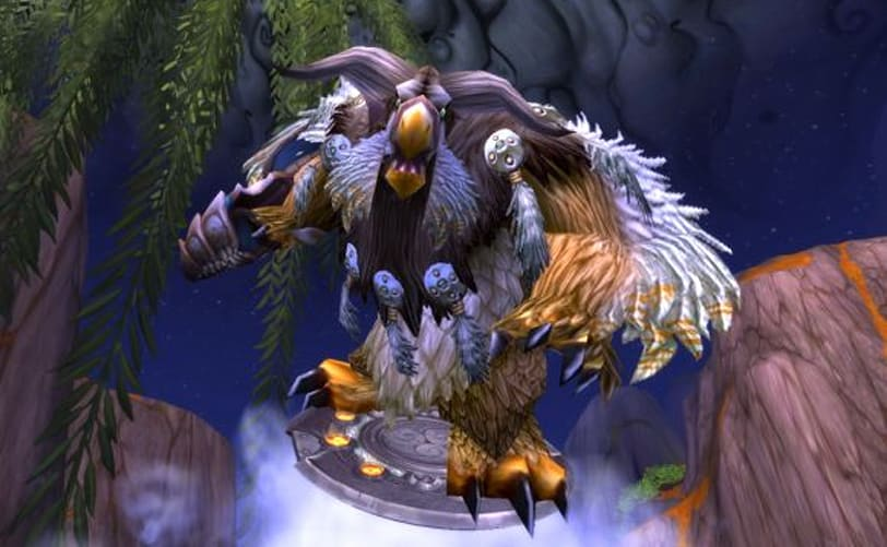 World of warcraft patch 5. 1 is live.