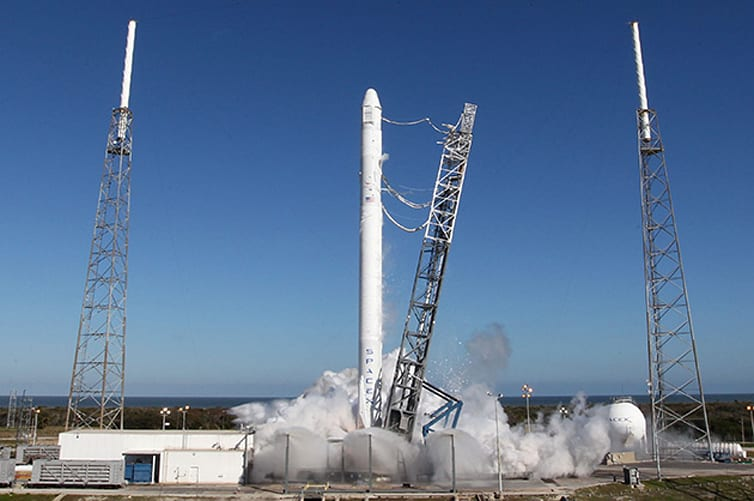 SpaceX chooses Texas for its futuristic launch complex