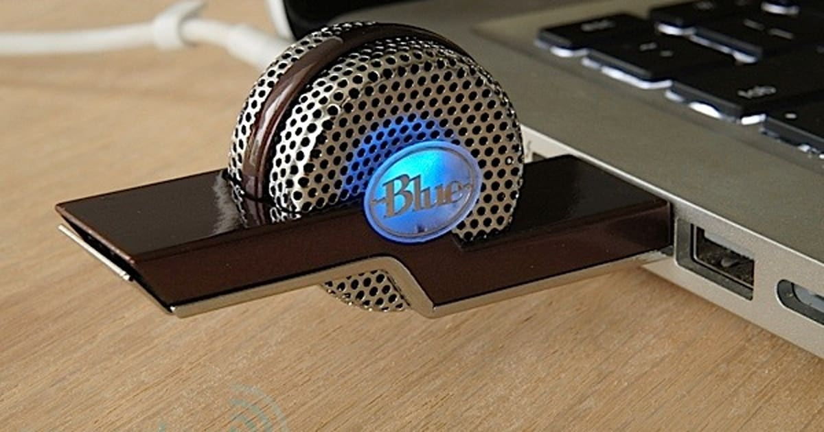 blue microphones tiki usb microphone review a thumbdrive sized mic for mobile recording. Black Bedroom Furniture Sets. Home Design Ideas