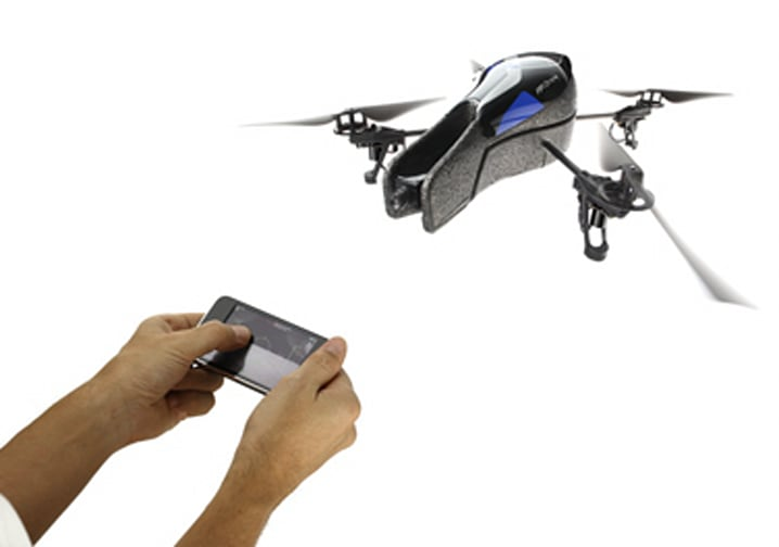 iphone controlled drone parrot s ar drone helicopter brings style 8938