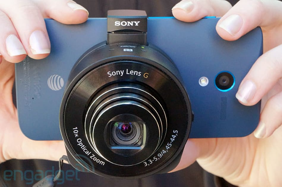 sony cyber shot qx10 review a wifi 39 lens camera 39 that. Black Bedroom Furniture Sets. Home Design Ideas