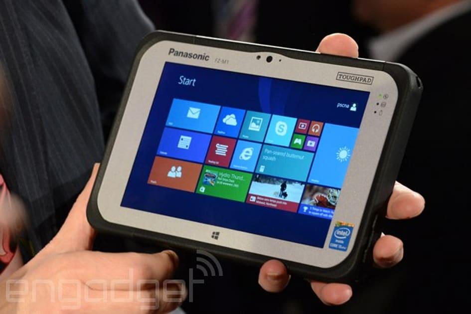 Panasonic Introduces New Rugged Tablets