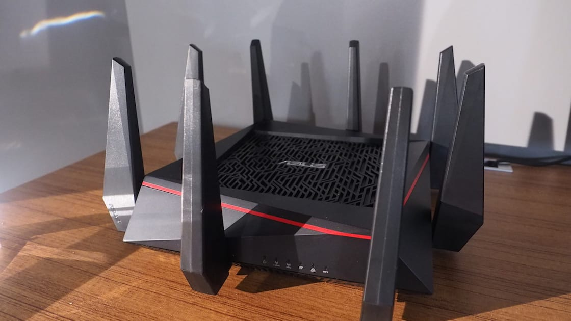 Asus Spiky Router Promises The World S Fastest Wifi