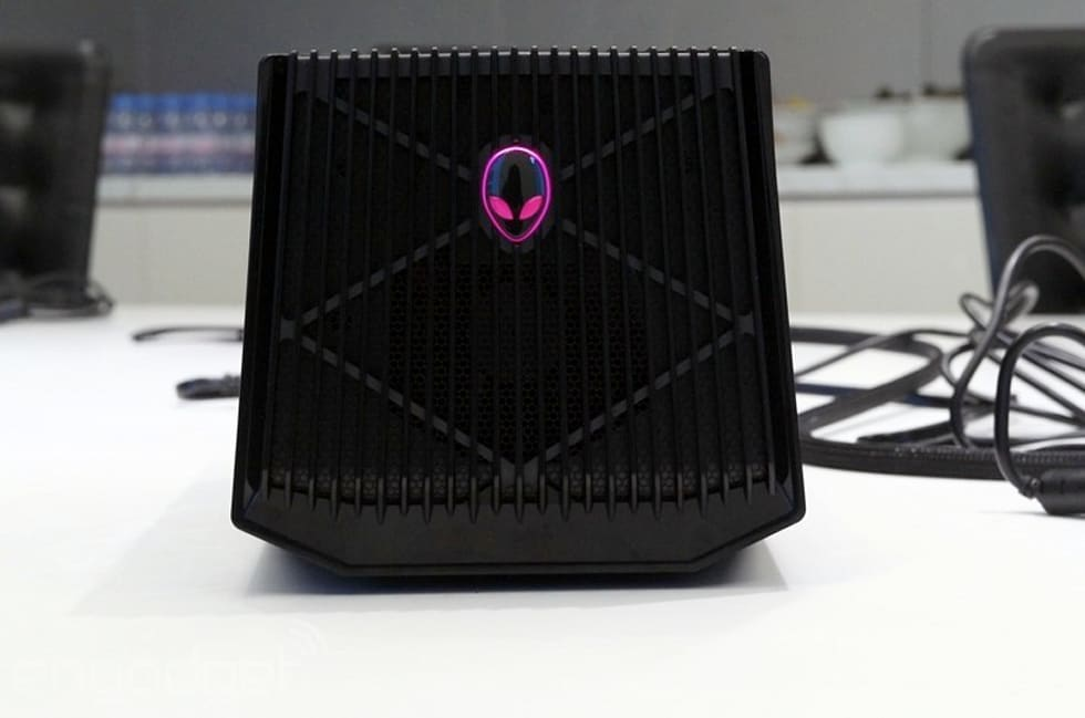 Alienware S Got A Massive 300 Dock For Your New Graphics Card