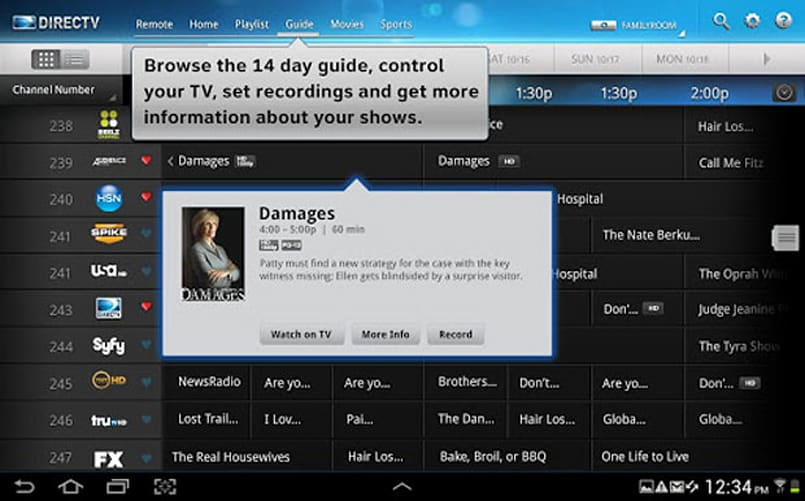 Directv Android Tablet App Knows It S Late Makes Suitably