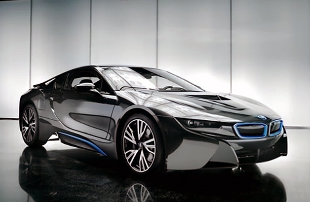 bmw expounds on i8 design and performance in new videos. Black Bedroom Furniture Sets. Home Design Ideas