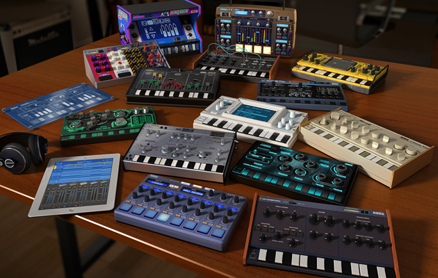 korg gadget packs 15 synthesizers and drum machines into an ipad app. Black Bedroom Furniture Sets. Home Design Ideas