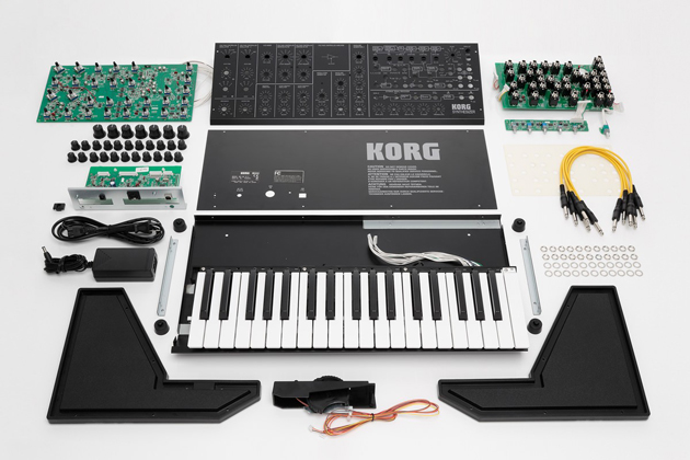 build your own analog synthesizer with korg 39 s ms 20 kit. Black Bedroom Furniture Sets. Home Design Ideas