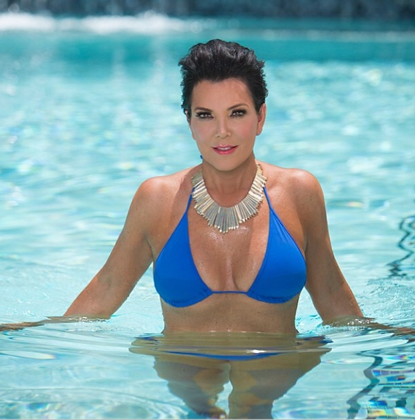 Kris Jenner Gives Kim Kardashian A Run For Her Money With