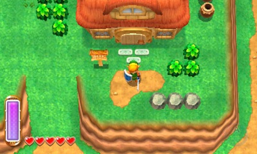 Images: Zelda A Link Between Worlds Map