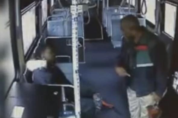 Teen Beats Up Bus Driver 104