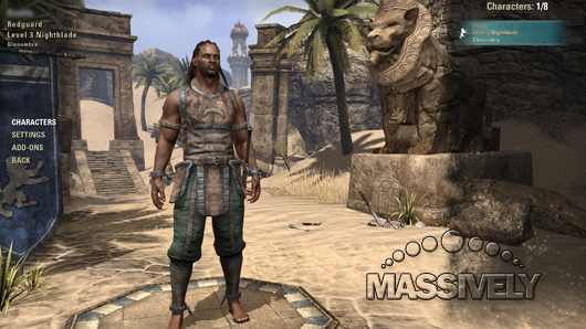 The Daily Grind: Does your first character end up as your ...Redguard Elder Scrolls Online