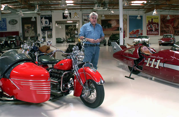 Jay Leno Cars List >> Jay Leno spends time with Indian motorcycles new and old