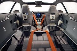 Volvo Concept Estate interior