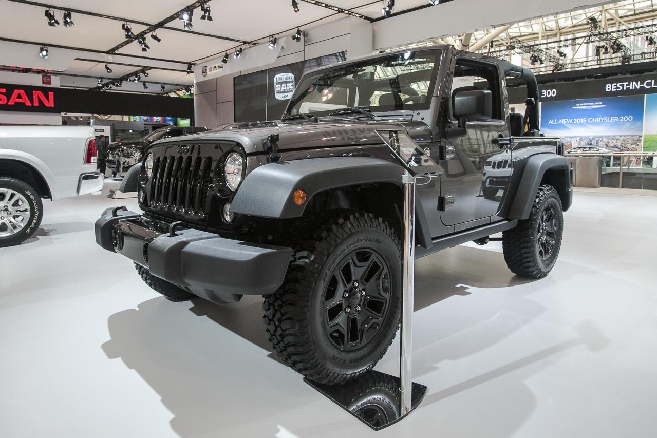 jeep goes retro wrangler willys wheeler edition tackles 2014 toronto auto show. Black Bedroom Furniture Sets. Home Design Ideas