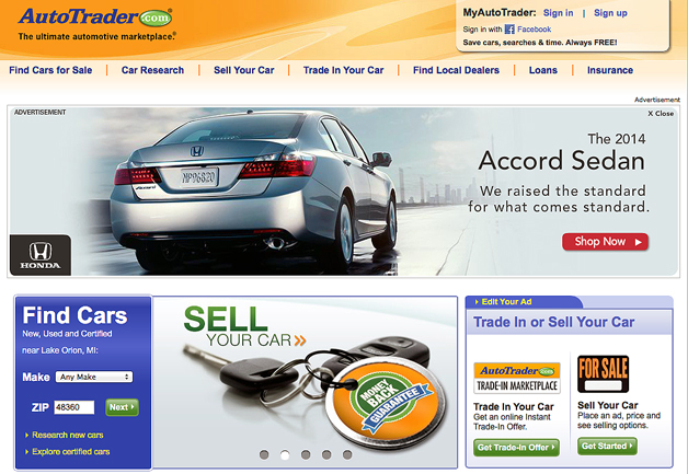 Car Selling Websites >> Report Cox Investment Values Autotrader At 7b As Car