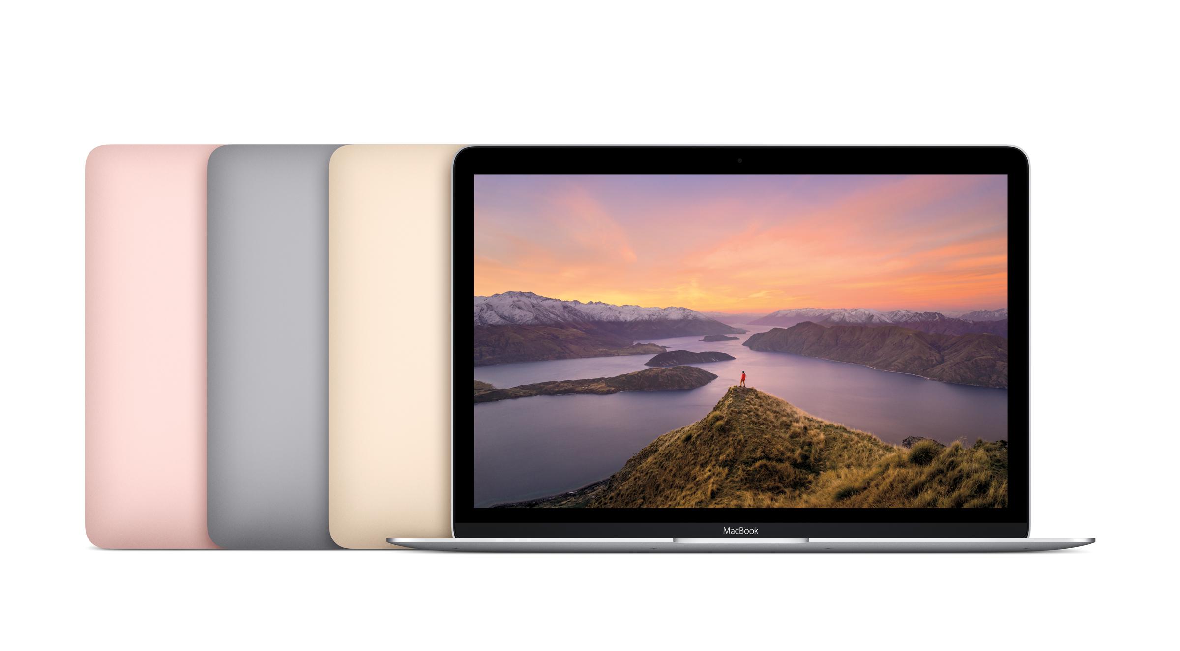 速報:MacBook新モデル発売。ローズゴールド追加、新Core mで性能向上&駆動時間延長 - Engadget Japanese