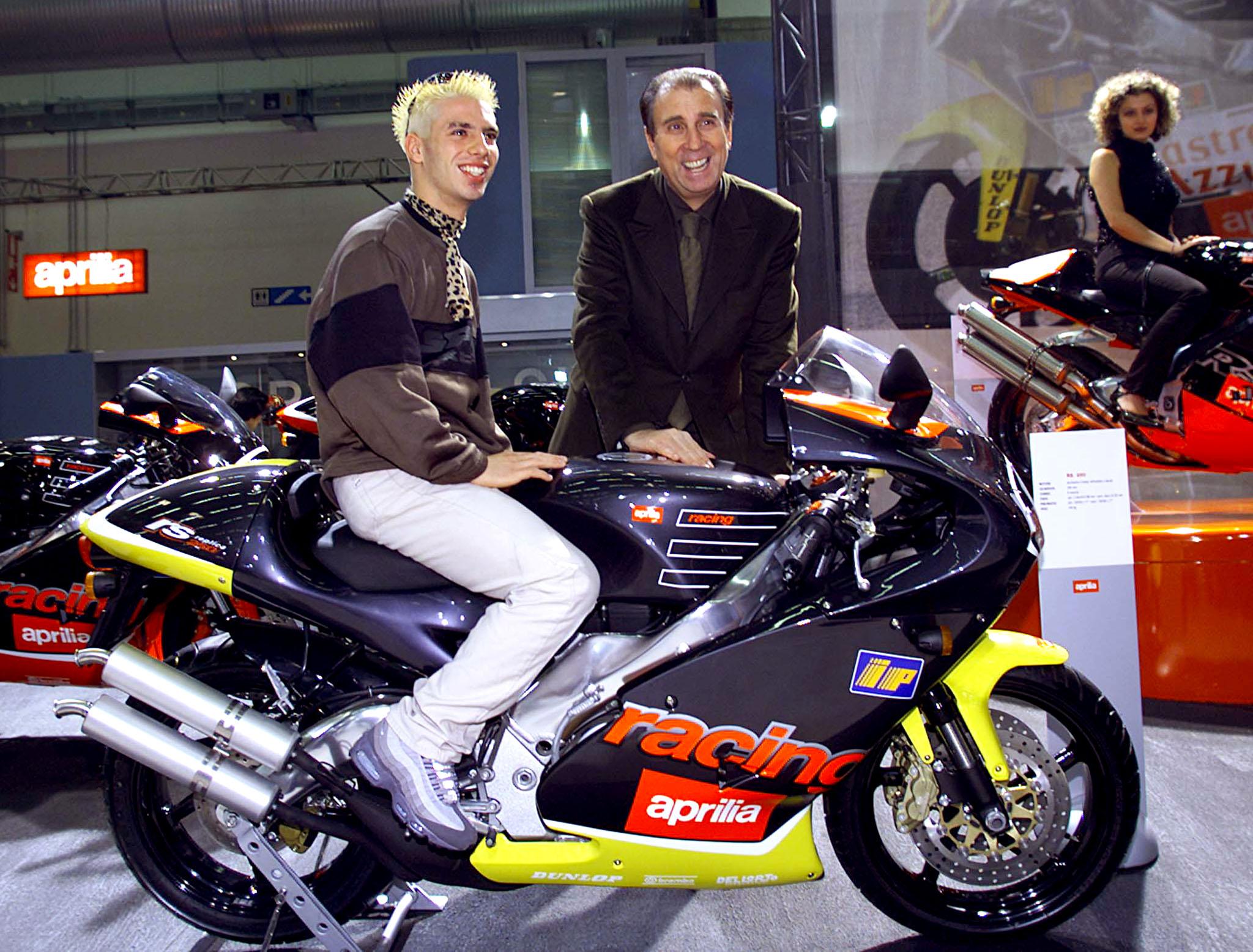 Ansa                   Ivano Beggio con Marco Melandri