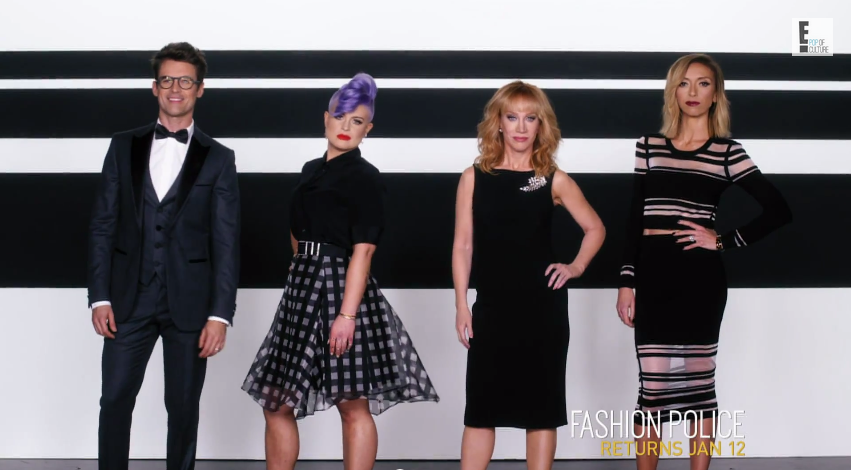 'Fashion Police': Kathy Griffin gets sassy with new cast ...