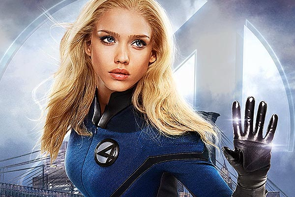 Poorly Cast Superheroes And Villains In Film History, jessica alba, invisible woman