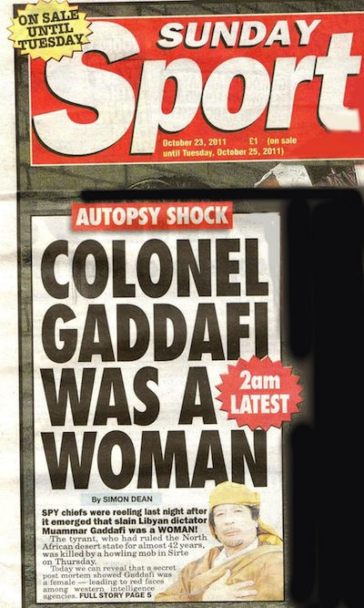 British Tabloid Headlines Are Ridiculously Outrageous