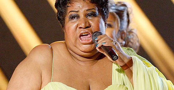 9 Fattest Rockers, Aretha Franklin