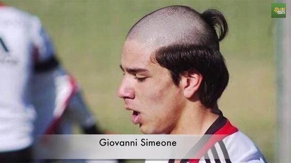 罗纳尔多,西蒙尼,佩佩......我收集了很多着名足球运动员的搞笑发型[视频]