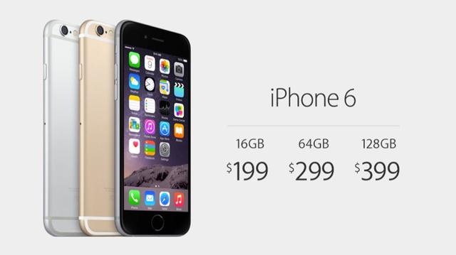Precio Iphone  Nuevo Gb