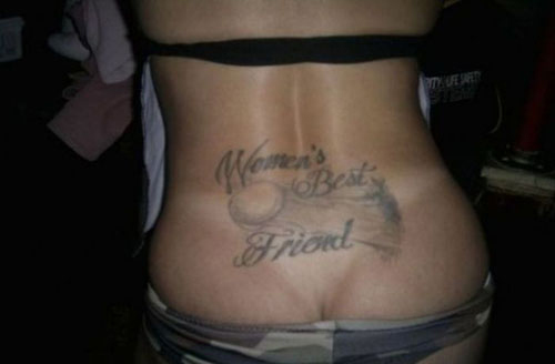 worst tramp stamp tattoos