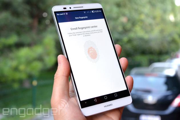 Huawei's new phablet gets an iPhone 5s-like fingerprint