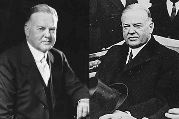US presidents before and after term, herbert hoover