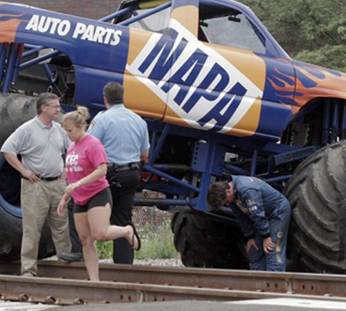 Monster Trucks Accidents